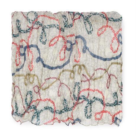 スカーフ Cadenas マルチカラー / プリーツ / シルク / 長方形(995920202)