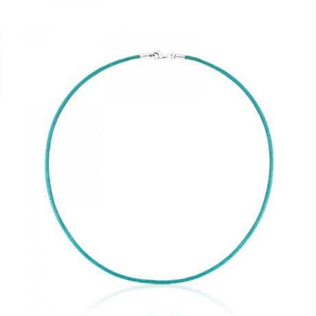 革チョーカーTOUS Chainsブルー 牛革 / 2mm / 40cm(511902510)