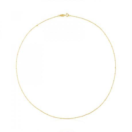 チェーンネックレスTOUS Chain 18金ゴールド / 45cm(114002430)