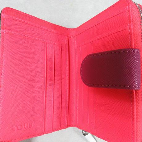 財布Dubai Saffiano グレー / 合成皮革/ 2つ折り(495970060)