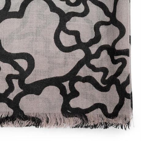 スカーフ ピンク・ブラック(695920092)