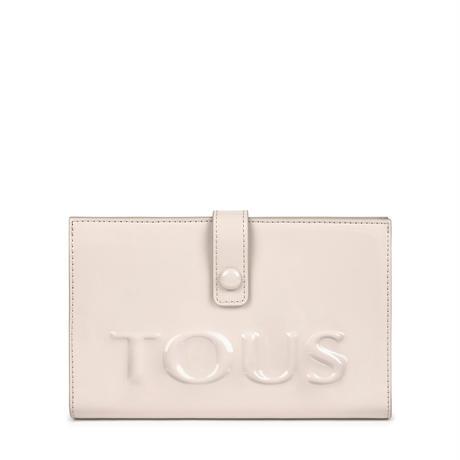 財布  Dorp Logo  2つ折り  M 合成皮革 ホワイト  【195960502】
