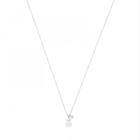 ホワイトゴールドにダイヤモンドが付いたネックレス TOUS Diamonds(611812000)