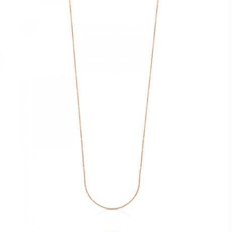 チェーン ネックレスTOUS Chains ピンクゴールドコーティング / 85cm(611902830)