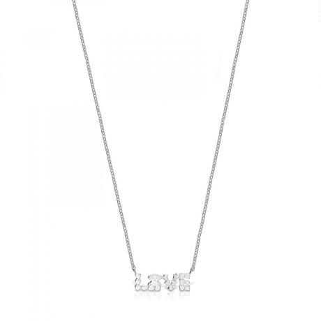 ネックレス San Valentín LOVE シルバー / 45cm(915302530)