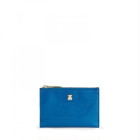 カードホルダー・コインパース Dorp ブルー / 合成皮革 / カード・コイン併用(995960253)