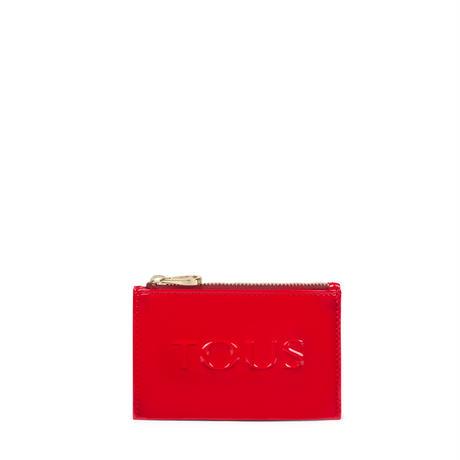 カードケース  Dorp Logo     合成皮革 レッド  【095970782】