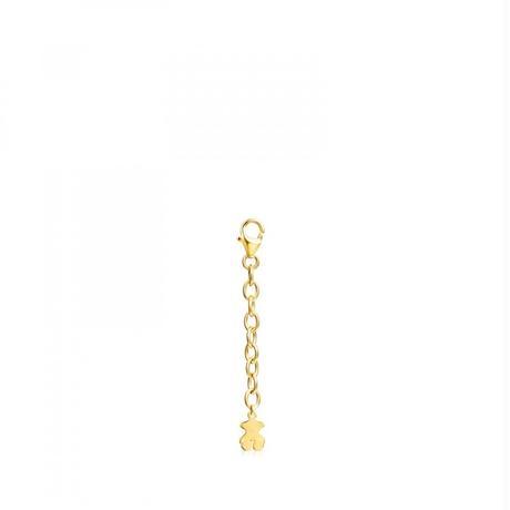 チェーンパーツTOUS Basics ゴールドコーティング / 延長パーツ4.5cm(511901751)