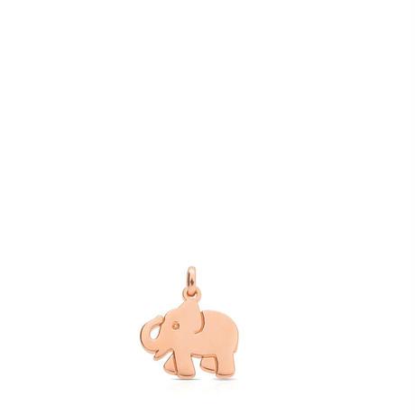 ペンダント Idol  ぞう 14mm ピンクゴールドコーティング【712364560】