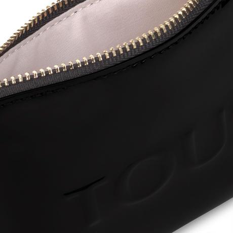 ポーチ  Dorp Logo  フラット  S 合成皮革 ブラック  【195960512】