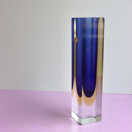 EUROPE VINTAGE GLASS VASE