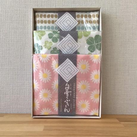 白雪ふきん3枚BOXセット B