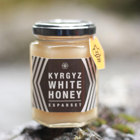 KYRGYZ WHITE HONEY 180g