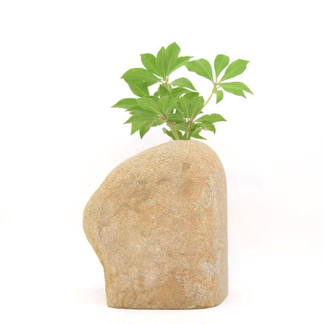 Real Stone Vase 1244