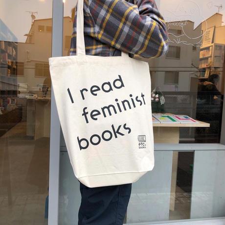 I read feminist books トートバッグ