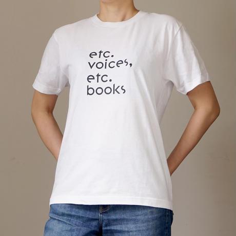 etc.voices, etc.books Tシャツ