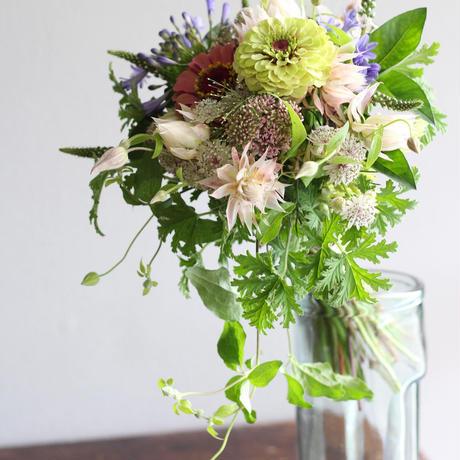 季節のお花「おまかせブーケ」7700円