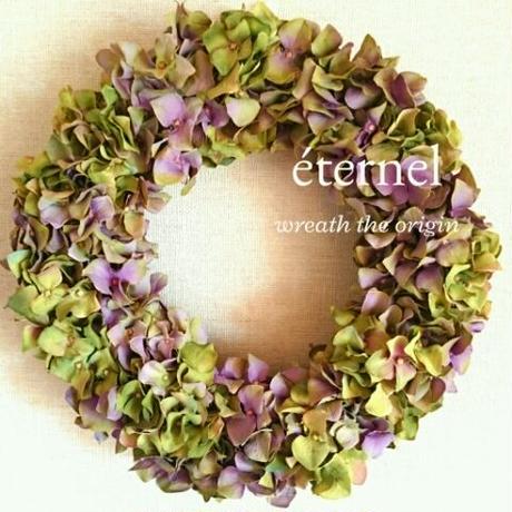 mauve color wreath  φ30