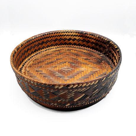 円形竹かご