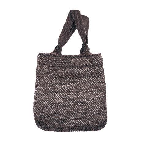 葛トートバッグ(ブラウン)Kudzu Tote Bag (Brown)