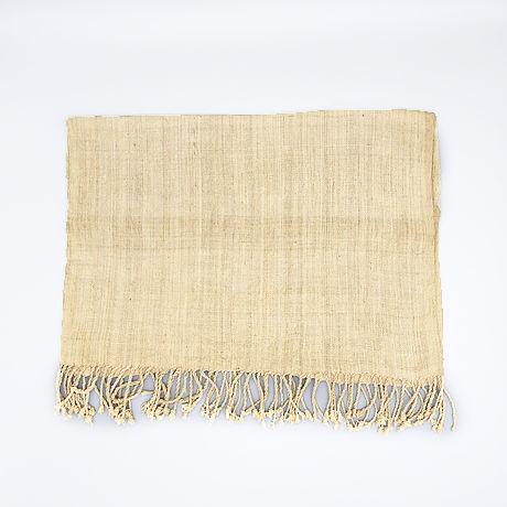 蓮の茎繊維の敷物