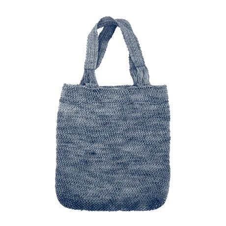 葛ミニバッグ(ダークブルー)Kudzu Mini Bag (Dark Blue)