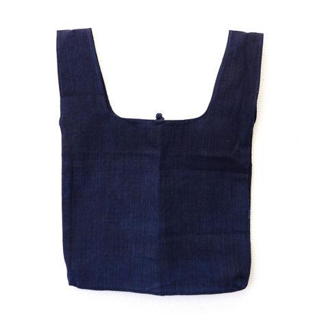 プイ族マーケットバッグ(ネイビー)  Buyi Market Bag (Blue)