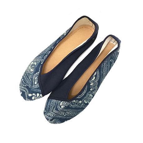 苗族バティックシューズ Miao Batik Shoes