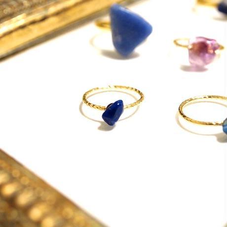 Gemstone ring - Lapis lazuli