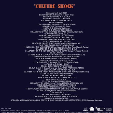 DJ BOOBY MIX-CD #02 [CULTURE SHOCK]
