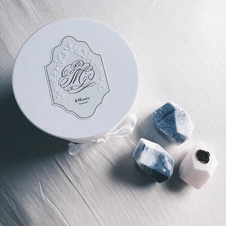 &Musée Candle Stone Set