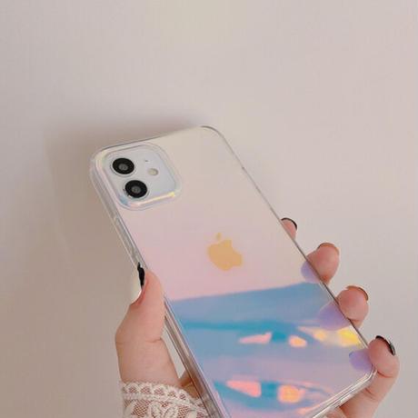 Pink laser iphone case