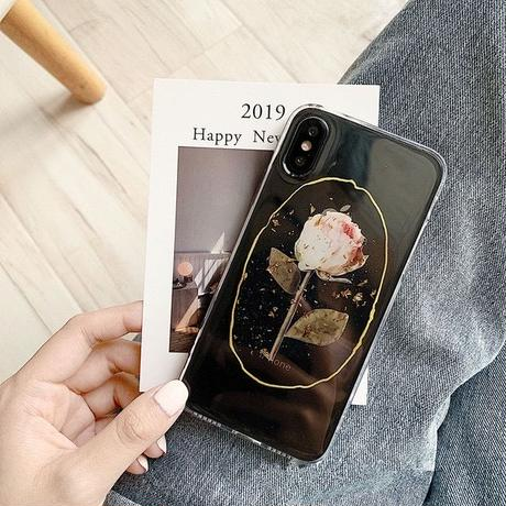 Rose printing iphone case
