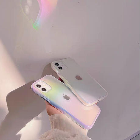 Aurora color side iphone case