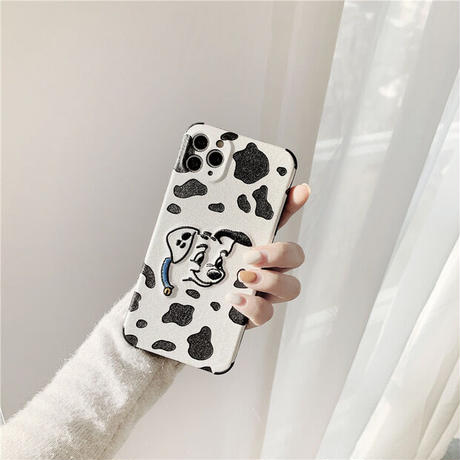 Cow pattern dog iphone case