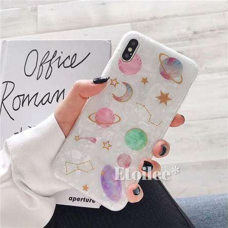 Universe shell iphone case