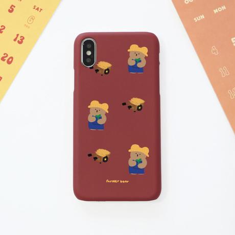 Pattern farmer bear hard case 571