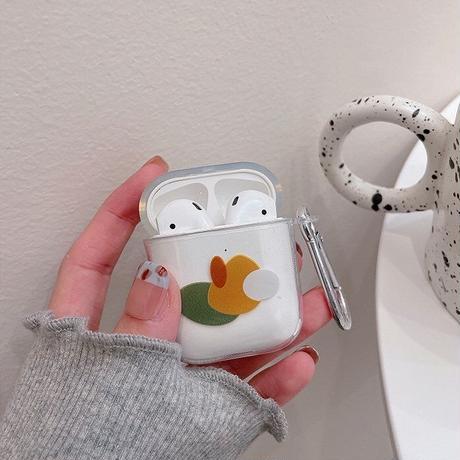 Simple art airpods case