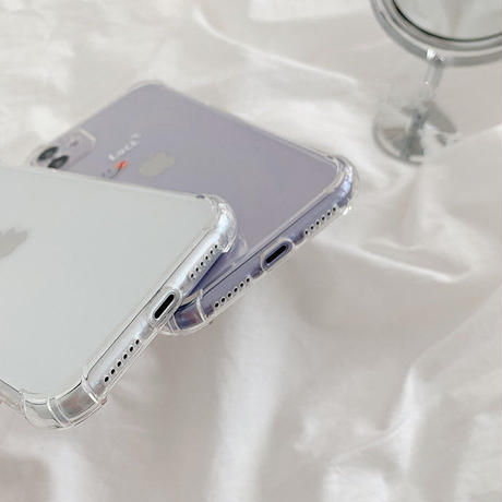 Luck happy clear iphone case