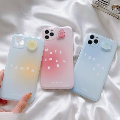 Summer fruits icecream iphone case
