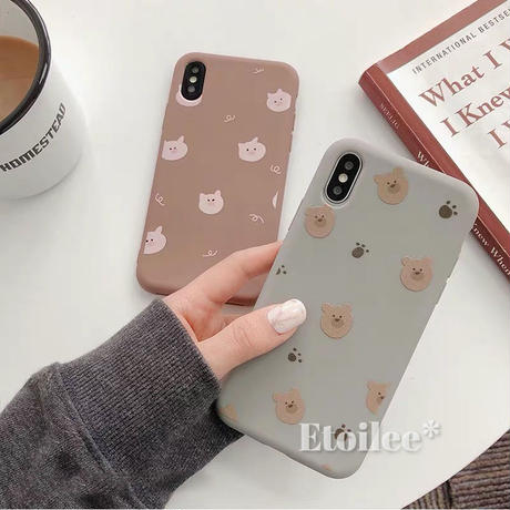 Pig bear iphone case