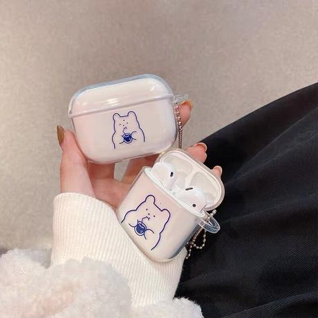 Juice bear clear airpods case