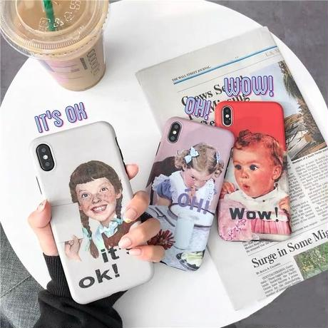 It's ok! Oh! Wow! iphone case