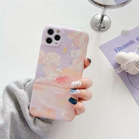 Pastel cloud iphone case