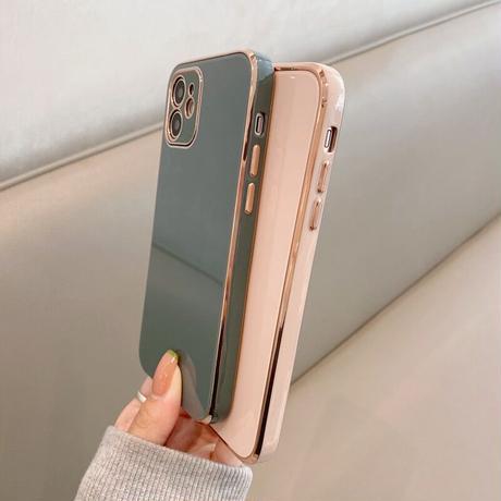 Nuance color simple iphone case
