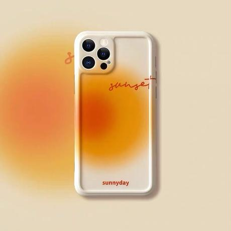 Sunnyday sunset iphone case