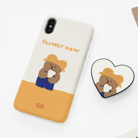 Farmer bear hard/clear case 572