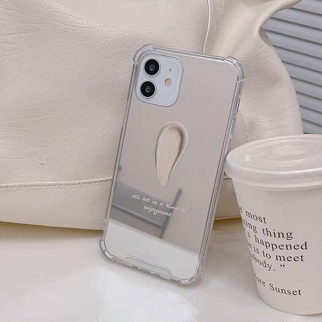 One point mirror iphone case