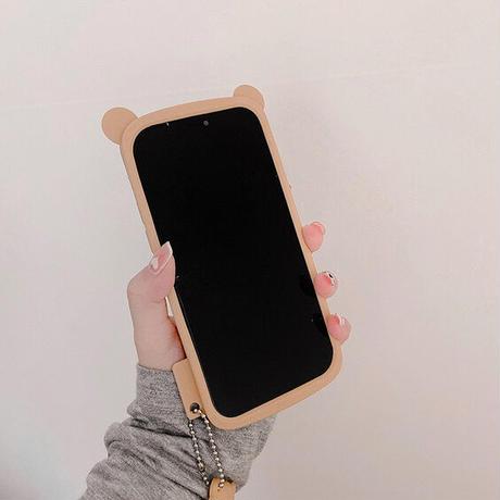 Bear face iphone case