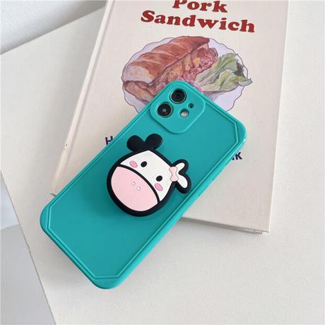 Milk cow grip iphone case